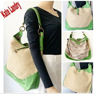 ❤️ Kate Landry Green Large Hobo Bag